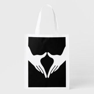 Yoga Yoni Mudra Grocery Bag