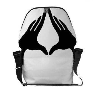 Yoga Yoni Mudra Messenger Bag