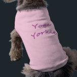 "Yoga Yorkie Dog Shirt<br><div class=""desc"">Yoga Yorkie Dog Shirt</div>"