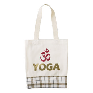 Yoga Zazzle HEART Tote Bag