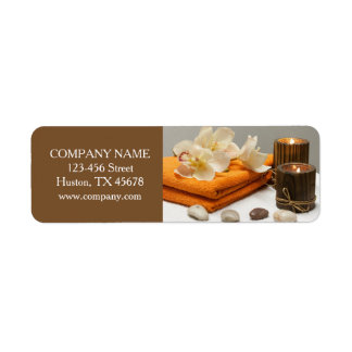 Yoga Zen Aromatherapy Skincare SPA Massage therapy Label