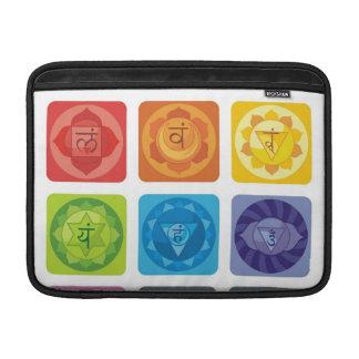 yoga,zen,ohm,chakra,healing,healer,yogi,chic,prana MacBook air sleeves