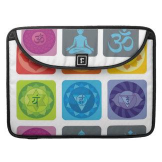 yoga,zen,ohm,chakra,healing,healer,yogi,chic,prana MacBook pro sleeves