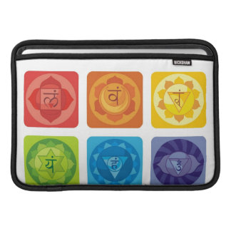 yoga,zen,ohm,chakra,healing,healer,yogi,chic,prana MacBook sleeves