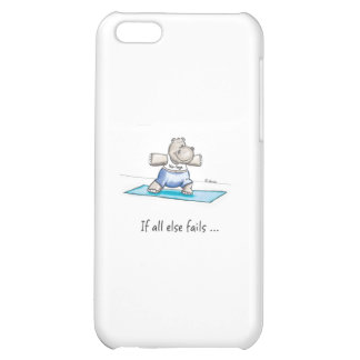 yogahippozazzle cover for iPhone 5C