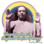 """Yogananda Photo Sculpture PY02<br><div class=""""desc"""">&quot;The greater the will,  the greater the flow of energy&quot;</div>"""