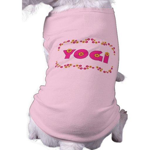 Yogi in Flores Pink Pet Clothing