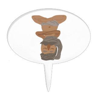 Yogi Man Cake Topper