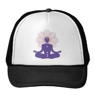 Yogi meditation,yogi,zen,peace,chakra,aura,healing mesh hat