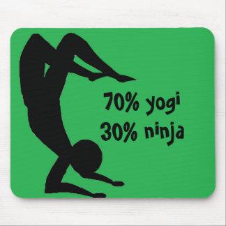 Yogi Ninja Mousepad
