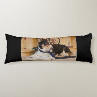 Yogi the Science Dog Body Pillow