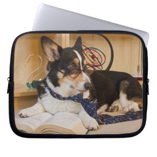 Yogi the Science Dog Laptop Sleeve