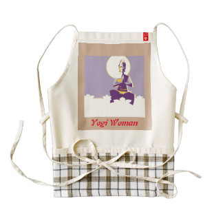 Yogi Woman Zazzle HEART Apron