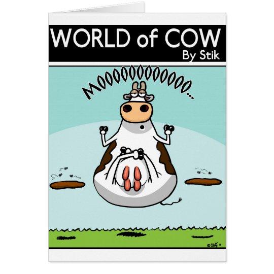 Yogic Cow Card