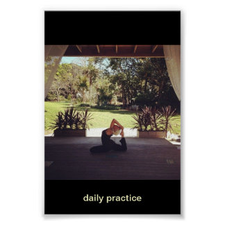 yogini: daily practice poster