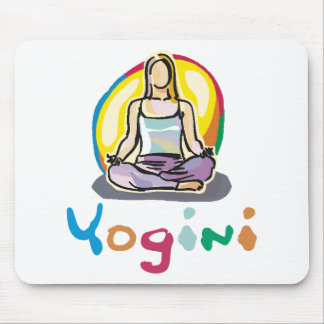 Yogini Mouse Pad