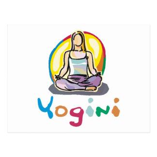 Yogini Postcard