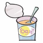 yogur delicioso escultura fotográfica