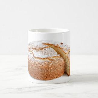 yogurt cake sliced coffee mug