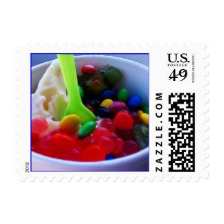 Yogurt Color Delicious Postage