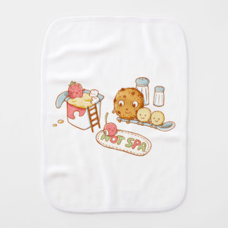 Yogurt&Cookie Burp Cloth