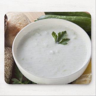 Yogurt Cucumber Soup Mousepad