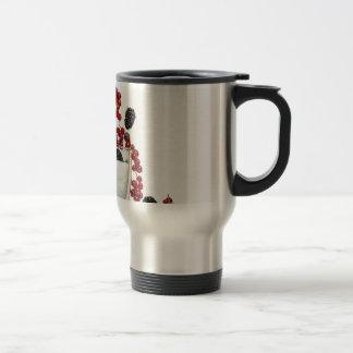yogurt fresh berries travel mug