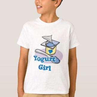 Yogurt Girl blueberry yogurt T-Shirt