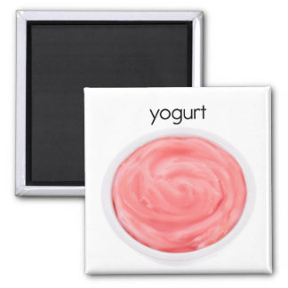 Yogurt Refrigerator Magnet