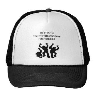 yogurt trucker hat
