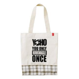 YOHO Pirate Zazzle HEART Tote Bag