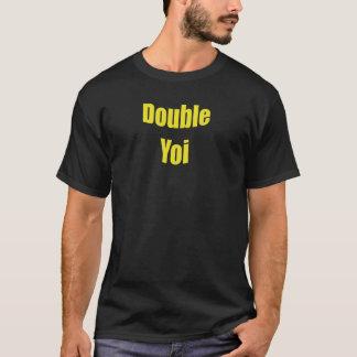 Yoi doble amarillo playera