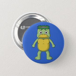 Yokai Kappa (River Imp) Button