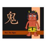 Yokai Oni (Ogre) Post Card