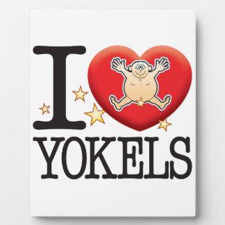 Yokals Love Man Plaque