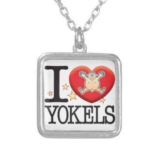 Yokals Love Man Silver Plated Necklace