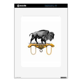 yoked bison claim skins for iPad