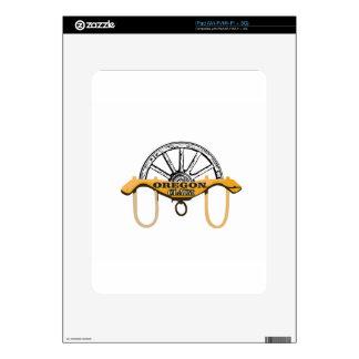 yoked oregon claim iPad skin