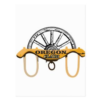 yoked oregon claim postcard