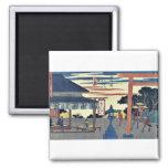 Yokkaichi por Ando, Hiroshige Ukiyoe Iman