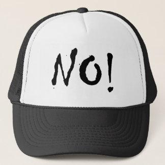 """Yoko Says No! """"NO!"""" Truckers Cap"""