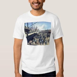 Yokohama Harbor Japan Vintage Shipping 横浜港 Shirt