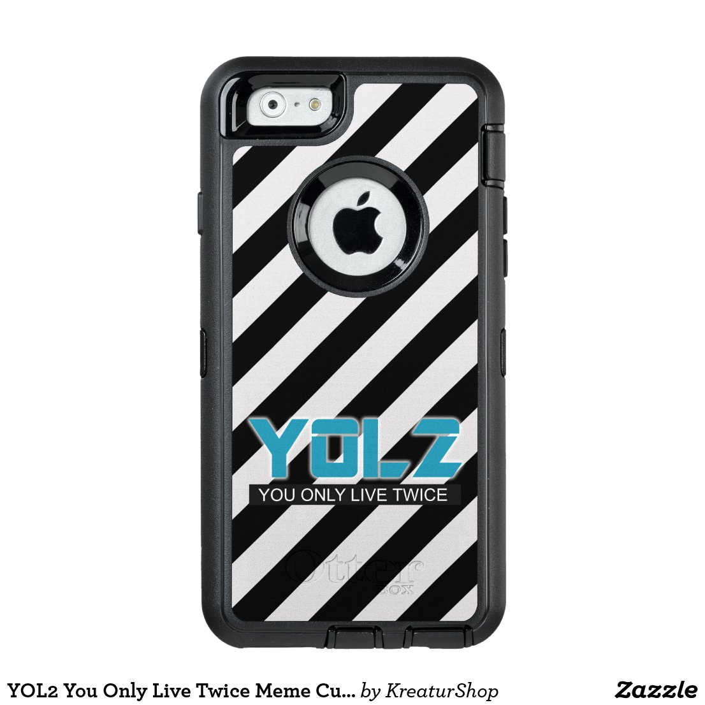 YOL2 You Only Live Twice Meme Custom Stripes