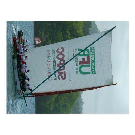 Yole Ronde - Martinique, FWI Post Cards
