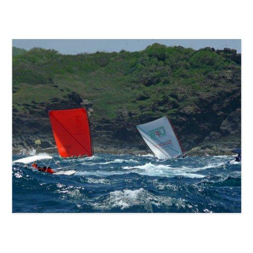 Yoles Rondes - Martinique, FWI Post Card