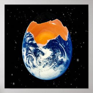 Yolk World Poster