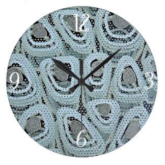 Yolks Large Clock