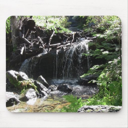 Yolly Bolly Ca Landscape Skyscape Waterscape Mouse Pad