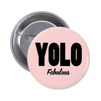 YOLO Badge Pinback Button