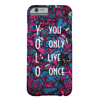 YOLO BARELY THERE iPhone 6 CASE